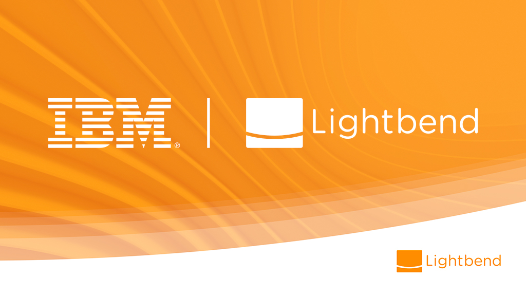 IBM + Lightbend - Accelerating cognitive development | @lightbend
